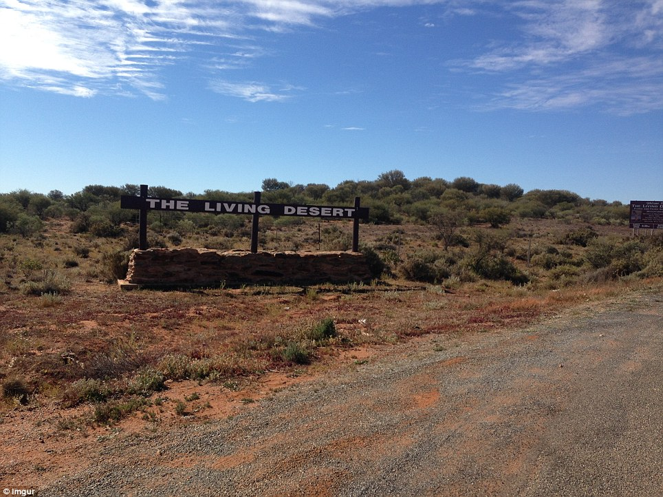 'The Living Desert' one users favourite Aussie outback shot