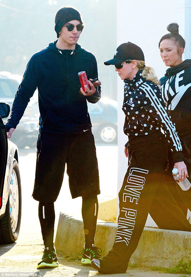 Split? It was reported on Wednesday that Madonna had broken up with her toyboy boyfriend Timor Steffens, 26, and that he had left the family holiday