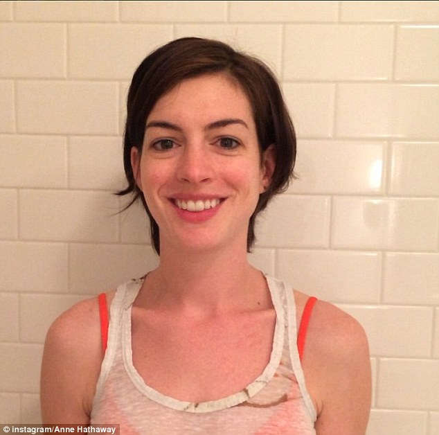 For a good cause! The ALS Ice Bucket Challenge also proved to be the impetus for Anne Hathaway to finally join Instagram, which she did on Thursday in order to post her video