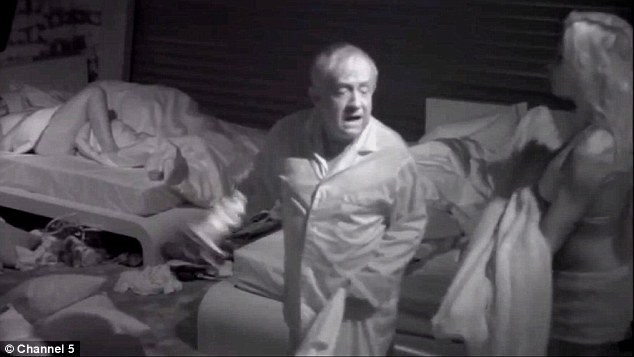 ¿The little french girl¿s gotta go!'... Leslie Jordan snapped at Frenchy in the bedroom concerning the noise