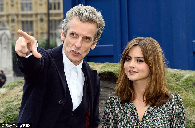 New line up: Jenna, who has been on the show since 2012, will now be working with Peter having formed a close bond with Matt Smith