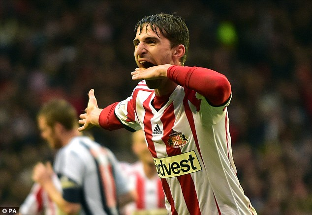 Decision time: Borini has still not chosen whether he will join Sunderland despite a bid being accepted