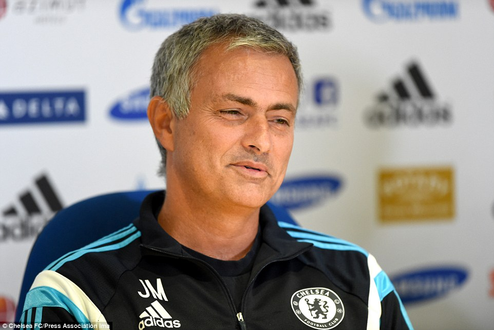 Level-headed: Jose Mourinho says Leicester's 'champions' mentality means they will be a tough side to face when they visit Stamford Bridge on Saturday