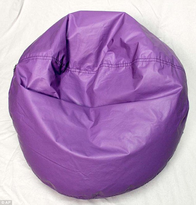 Ace Bayou, which is based in New Orleans, is offering customers a free repair kit that will stop the zippers from opening (recalled bean bag pictured)