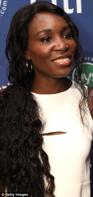 Doubles the fun: Fans got to see two Williams sisters for the price of one at the Taste Of Tennis gala in New York on Thursday