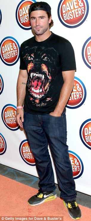 Busy birthday: After his party with friends and family, Brody headed to Dave & Buster's Hollywood & Highland Grand Opening