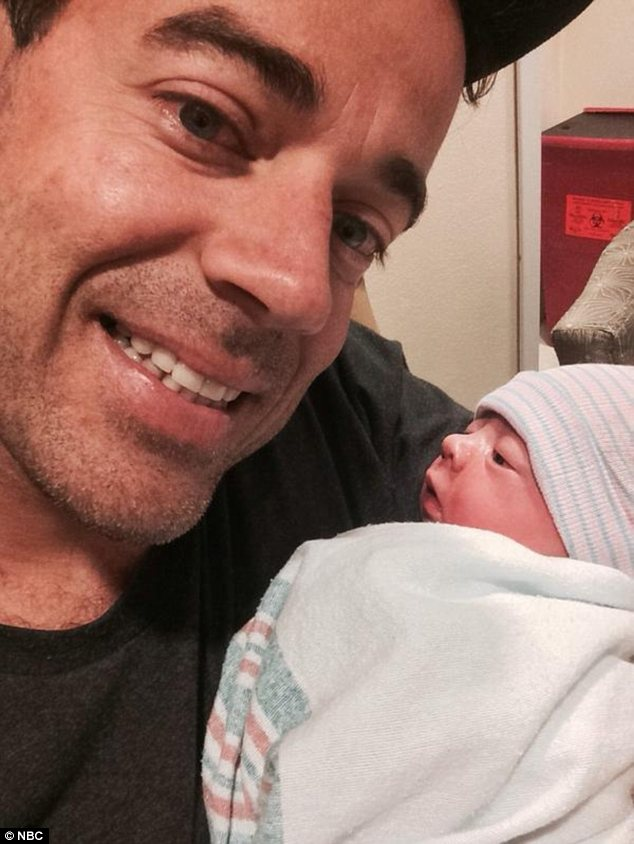 Today show baby boom: Carson Daly welcomed daughter London Rose this week