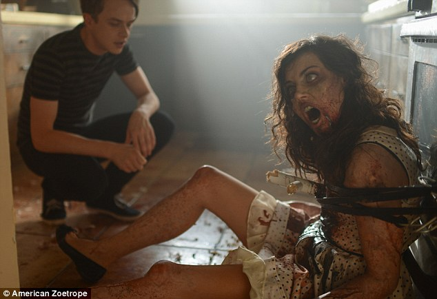 Due out October 3 in the UK! The Miami-born 37-year-old directed Plaza in his zom-com Life After Beth - now in US theatres - which also stars John C. Reilly, Molly Shannon, and Dane DeHaan (L)