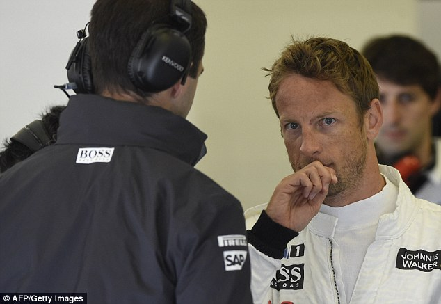 Ready or not: Jenson Button admitted he wasn't ready for the challenges of Formula One until the age of 23