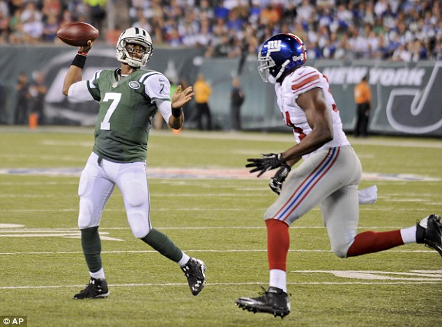 No 1: Geno Smith has been named starting quarterback by New York Jets head coach Rex Ryan