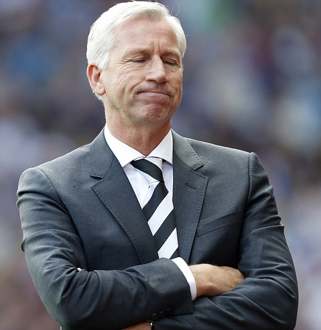 Blunt: Pardew's side failed to create many good chances, but Pardew still thought they should have won