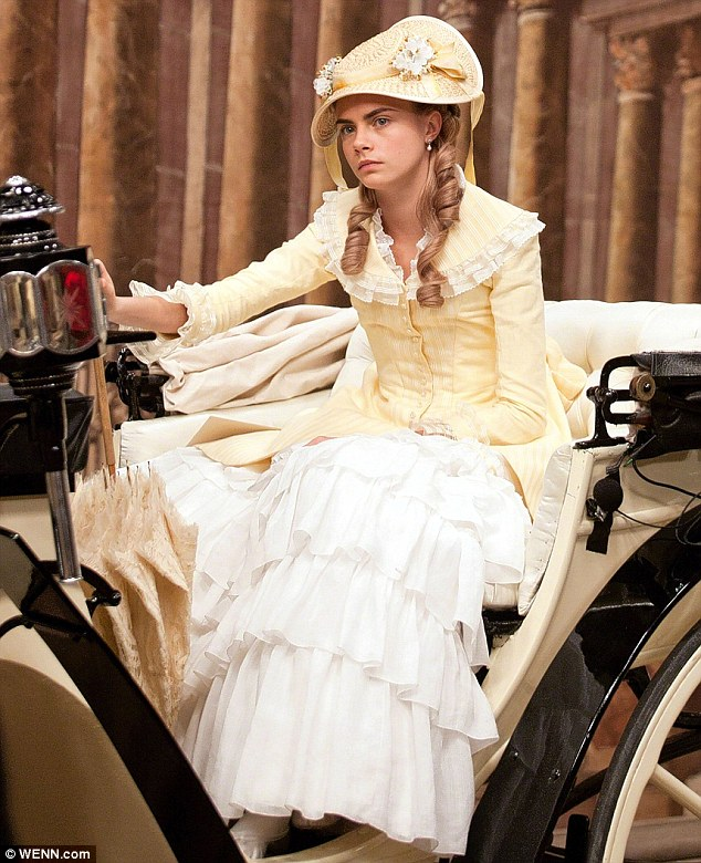New career: She made her acting debut in Anna Karenina (pictured) and will appear in a new Peter Pan film