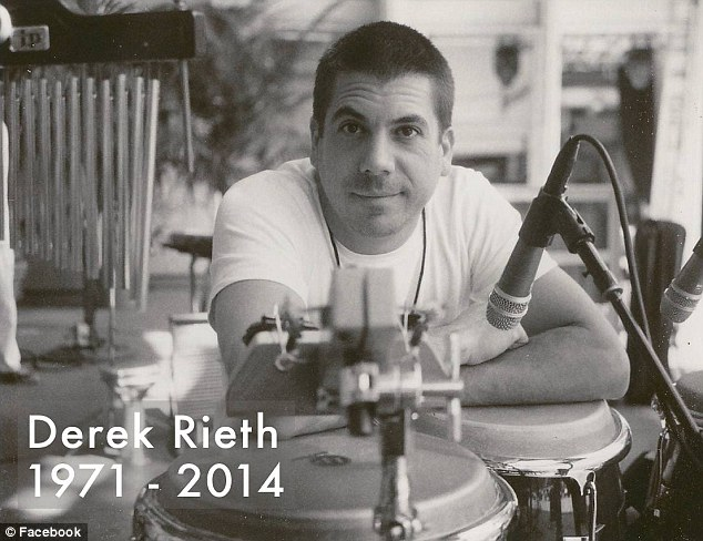 Found dead: Derek Rieth, a longtime member of jazz outfit Pink Martini, died of a self-inflicted gunshot wound at his home in Portland, police said Friday