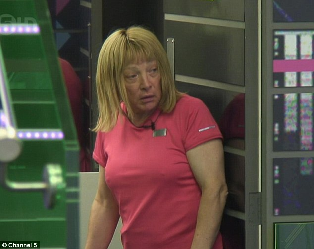 Childish prank: Kellie Maloney decided to call a house meeting after Frenchy wasted their food
