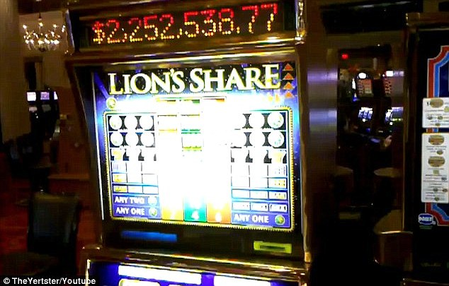 Stubborn: The Lion's Share is the only game left from an entire network of $1 progressive slots that were installed at the MGM Grand in the early 1990s - and only just hit jackpot