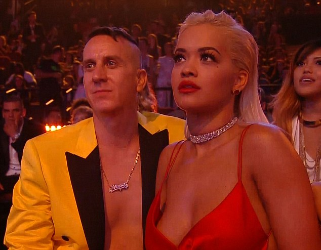 Throwing shade:It was the most risqué performance of the night at the MTV Video Music Awards but it seems that Rita Ora didn't appreciate Nicki Minaj's raunchy dance routine for her new hit, Anaconda