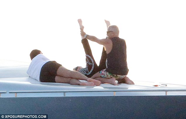 Up, up and away! Madonna recently celebrated her 56th birthday with a lavish bash in Cannes