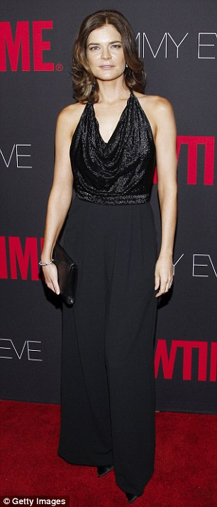 Striking: Breaking Bad actress Betsy Brandt makes an appearance at the annual event in Hollywood on Sunday evening