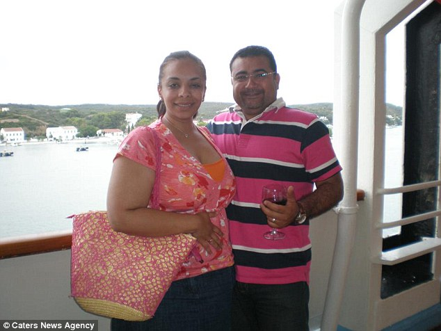 The final straw for Noha Baghdady was when her husband Yasser booked a restaurant table for their seven year anniversary but she was too embarrassed to let people see her eat