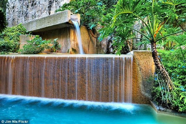 Beware the costs: The Hyatt Regency San Antonio charges guest £6 to £15 to receive a package