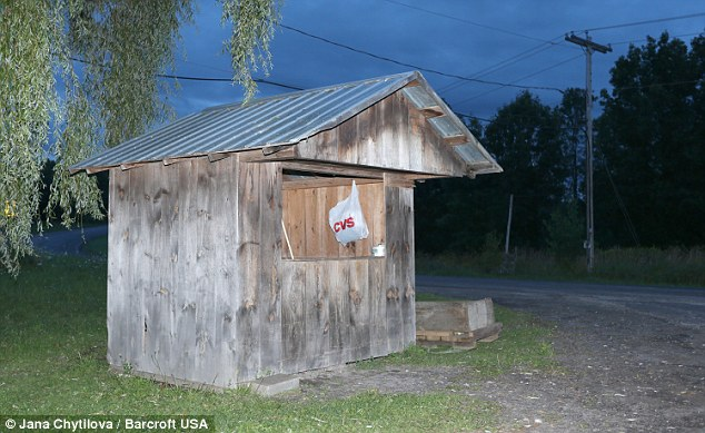 The family farm stand in New York stand that the two girls, age 7 and 12, were abducted from on August 13