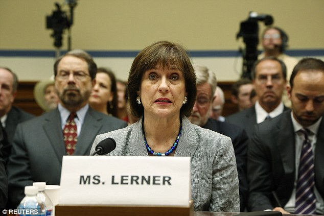 Lerner, the IRS Director of Exempt Organizations when the so-called 'tea party targeting' scandal developed, retired from government service in 2013 and is receiving her full pension