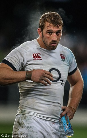Teenagers try to emulate professional ruby players, such as Chris Robshaw, and bulk up to a 'dangerous' degree, experts warn