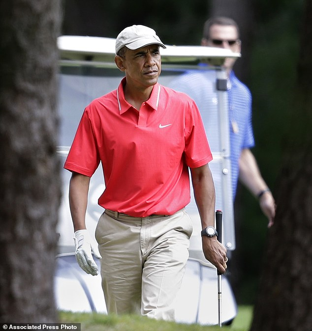 Obama's vacation was largely overtaken by events involving Islamic State militants in Iraq and Syria and the unrest in Ferguson, Missouri, following the fatal police shooting of an unarmed black man