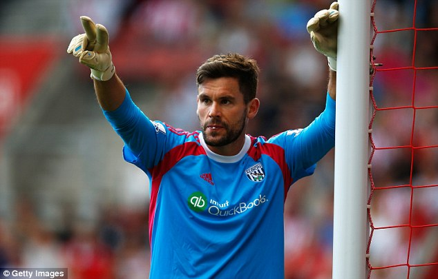 Contender: Ben Foster kept a clean sheet on Saturday as West Brom earned a point at Southampton
