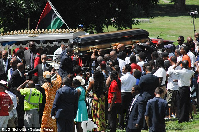 Worthy: Obama's White House sent three emissaries to St. Louis for Brown's funeral on Monday