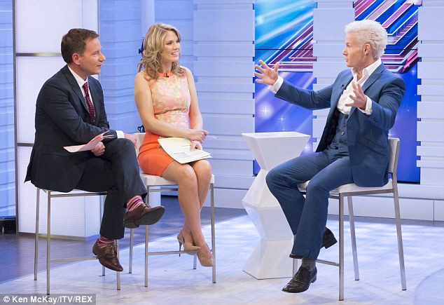 Bump alert: The Good Morning Britain presenter has finally been starting to show
