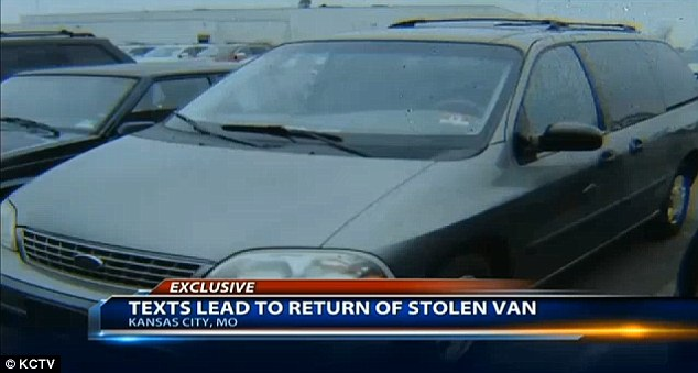 Stolen: Bratten uses her van for business, which is how she provided for her five children