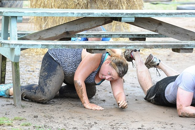 Challenge: Shelly said that her first week at bootcamp was 'hell' and that she ached in places she didn't even know possible