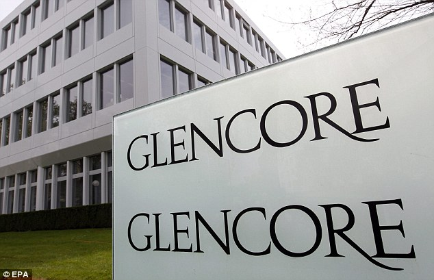 Clashes: A copper plant owned by Glencore's Zambian subsidiary came under attack