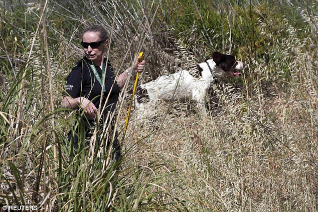 Sniffer dogs were used in the search of the area in June but are not believed to have turned up any clues