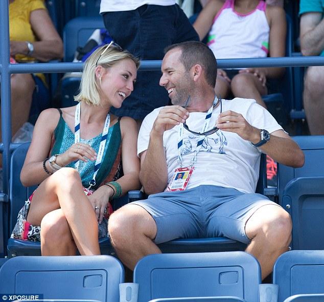 Age gap: Garcia is ten years older than his 24-year old rumoured fiancée