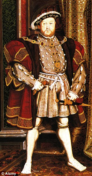 Cromwell was executed at the behest of King Henry VII (depicted) in 1540