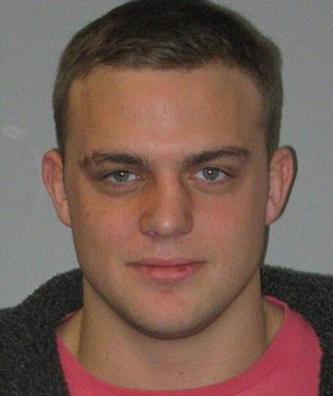 Tragic: Jason Flannery, 25, from North Yorkshire, who Thai police say died after running into a glass door in his apartment after taking cocaine