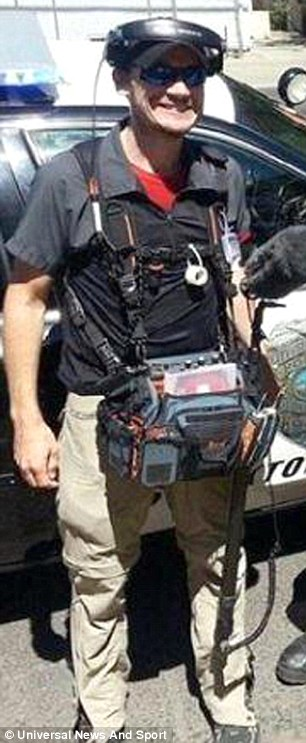 Popular: The trained cameraman had worked on the long-running reality show for seven seasons