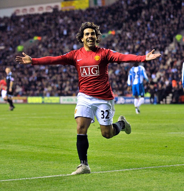 On target: Carlos Tevez scored 34 goals for United in his two seasons with the club