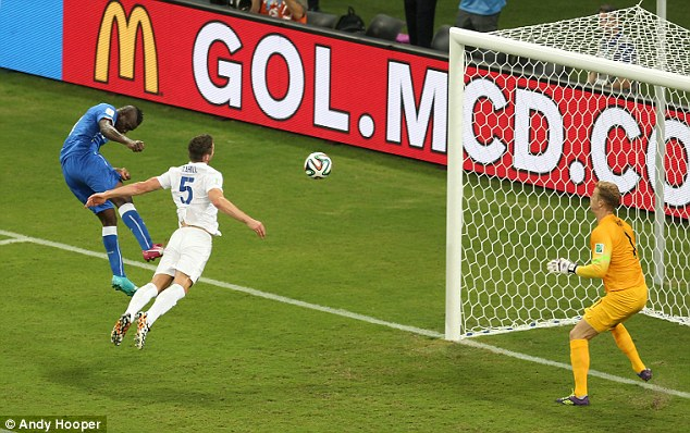 Repeat: Roy Hodgson's men will also face Italy, who beat the Three Lions 2-1 during the World Cup in Brazil