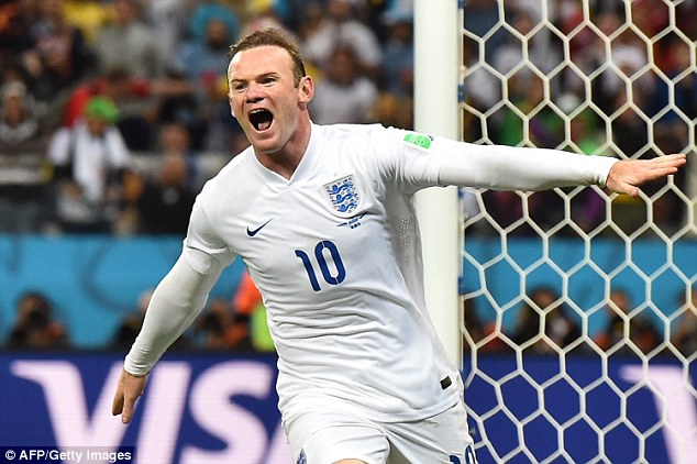 Chance to lead: England's new captain Wayne Rooney will have the opportunity to play against top opposition