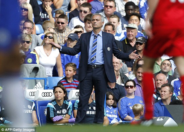 Blues bother! Jose Mourinho is concerned about Chelsea's attacking options this season
