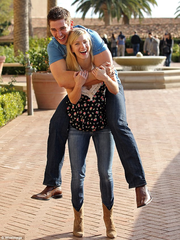Fairy tale love: The pair are said to have met when they were still in high school in Arizona