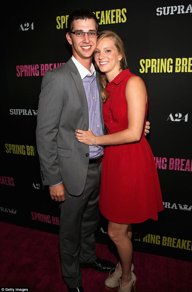 Wedding bells: Heather Morris got engaged last month to longtime boyfriend Taylor Hubbell