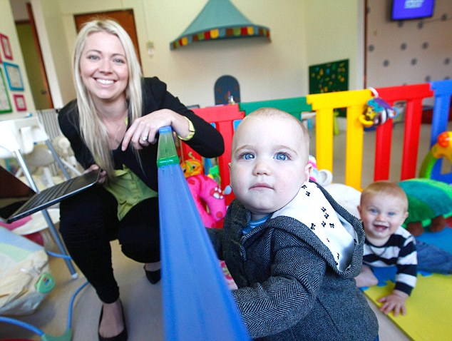 Work spaces that combine a hot desk with childcare are already popular overseas but new to Australia