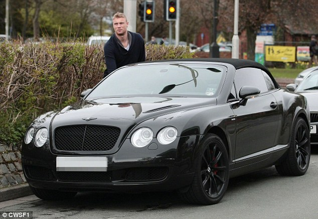 The 36-year-old millionaire, who is now a panellist on Sky One show League Of Their Own, was already on nine points for speeding and in danger of an automatic ban after he was caught doing 87mph in his Bentley on the M6, near Linstock, Cumbria on January 28 this year