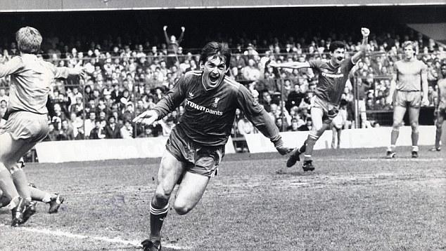 King Kenny: Dalglish celebrates a winner against Chelsea back in 1986