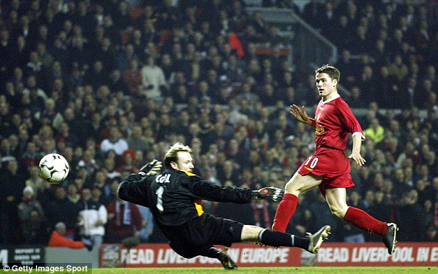 Prospect: Michael Owen burst on to the scene with Liverpool before leaving for Real Madrid in 2004