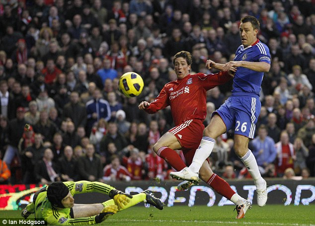 Goal machine: Fernando Torres was on fire for Liverpool but left after three and a half seasons